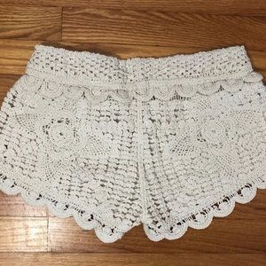 Surf Gypsy Shorts - lace shorts